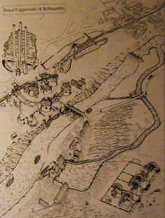 A sketch of the Forest copperworks and rollingmills, near Swansea