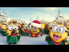 Minions Merry Xmas & Happy New Year - YouTube