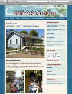Websites: Oktibbeha County Heritage Museum in Starkville, MS  http://www.oktibbehaheritagemuseum.com