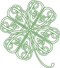 celtic knot clover designs | Knot Clover Tattoo Of Skull Celtic Love Designs