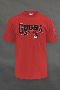 Georgia men's tee