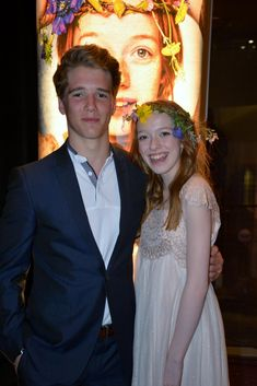 Christian Martyn and Amybeth McNulty and viewing of Anne in Toronto.