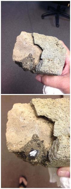 Very sneaky rock hide. This would be a real tough one to find, especially among other rocks. (Pics from Debi Pea from https://www.pinterest.com/debipea/geocaching-clever-ideas/ stitched together by I.B. Geocaching & repinned to Creative Geocache Containers - pinterest.com/islandbuttons/creative-geocache-containers/) #IBGCp