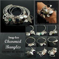 Charmed Bangle pdf DIY Jewelry Instructions by UnkamenSupplies