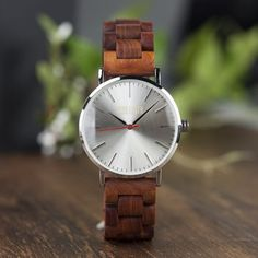 Starting A Farm, Watch One, Natural Rubber, Wood Watch, Track, Earth, Watches, Outfit, Products
