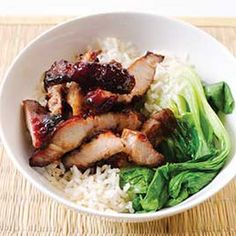 """Chinese Barbecued Pork  This recipe really surprised me! I only had about an hour to marinate it & thought no way would it absorb any flavor in that time. Plus, since most recipes for Boston Butt have long cooking times & this is a quick 90 minutes, I was sure that tasteless shoe leather was on the dinner menu! But, it couldn't have been further from the truth!  It turned out fantastic....moist, flavorful & falling off the bone! My much better half & the visiting Minions all gave it a """"Do…"""