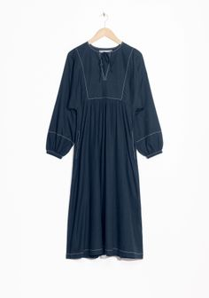 & Other Stories | Relaxed Cotton Dress