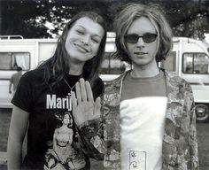 Beck and Mila Jovovich