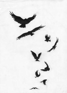 Forearm Tattoos, Arm Band Tattoo, Body Art Tattoos, Tattoo Art, Bird Tattoo Men, Raven Tattoo, Tattoo Sleeve Designs, Sleeve Tattoos, Photo Trop Belle