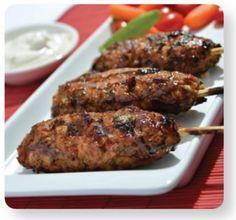 Grilled Turkey Torpedos Recipe