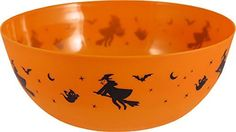 Halloween Plastic Treat Bowl (Pack of 2)