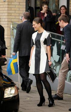 Crown Princess Victoria & Prince Daniel visit London Day 1 11/7/2013