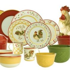 french+country+style+dinnerware | Chanticlair by Royal Doulton