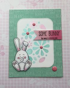 https://flic.kr/p/SJ2NmP | IMG_1150 | March 2017 Some Bunny Card Kit