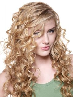 Styling Long Curly Hair