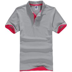 Brands Camisa Polo masculina Shirt Mens Cotton Polos Short Sleeve Men Polo Shirt Sportsjerseysgolftennis Plus Size Blusas Tops Polo Shirt Brands, Mens Polo T Shirts, Printed Polo Shirts, Short Sleeve Polo Shirts, Shirt Men, Air Force One, Fitness Man, Color Style, Sport Outfits