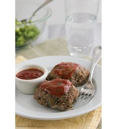 Mini Skillet Meatloaves - Taste and Tell