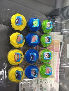 Teen titans go cupcakes with rings Leo Birthday, Halloween Birthday, 6th Birthday Parties, Cupcake Birthday Cake, Teen Titans Go, First Birthdays, Party Ideas, Parties Decorations, Candy Table