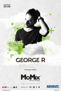June 2019, Summer DJ Lineup Resident DJ: George Gikas Info & Reservations: ☎+30 697 435 0179 #Santorini #DJ #summer #party #summerparty Santorini Caldera, Santorini Greece, Cocktail Desserts, Cocktails, Mixology Bar, Cocktail Night, Dj, Info, Lineup
