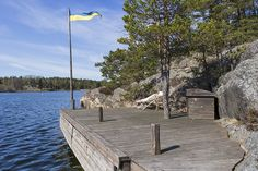 House By The Sea, Stockholm, Sweden, Cottage, Holiday, Summer, Outdoor, Image, Beautiful