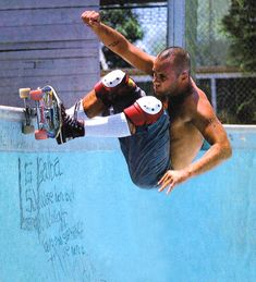 Thrasher Skateboard Magazine | Jay Adams R.I.P. Jay you fucking legend. We'll keep it rad here for you.