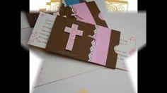 Resultado de imagen para invitaciones para primera comunión de niño hechas a mano