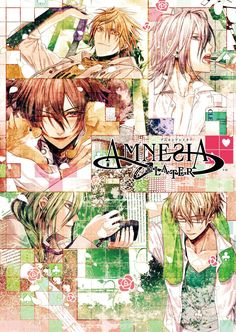 This damn anime. I love it even though it confused the holy hell out of me at the beginning.  Amnesia Shin
