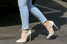 Kylie Jenner Wears Pretty Louboutins to Easter Services