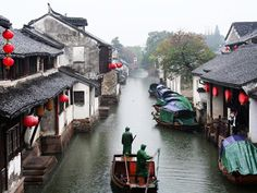 Beautiful water village of Zhouzhuang, China, where old traditions still thrive 9 September 2010