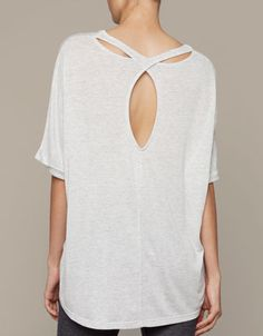 Top with teardrop back detail