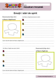 009 - Fise de lucru  - Dezvoltare personala - fapte Hidden Pictures, Therapy Activities, Homeschooling, Preschool, Parenting, Classroom, Teacher, Education, Kids