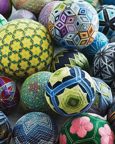 Q&A with Steven Bowe and a beginner how-to for a beautiful termari ball! #SweetPaul #Temari