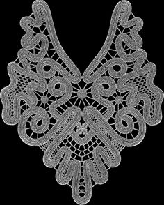 SITANZIS — «кружева» на Яндекс.Фотках Lace Doilies, Crochet Doilies, Needle Lace, Renaissance, Crochet Necklace, Crochet Patterns, Tela, Bobbin Lace, Crochet Pattern
