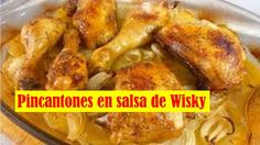 Comidas Faciles de Hacer - Picantones con Patatas al Wisky