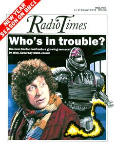 Doctor Who Radio Times Cover 1975-01-11 FAKE