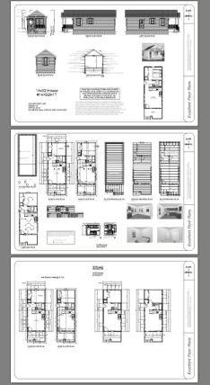 14x32 Tiny House -- #14X32H1T -- 447 sq ft - Excellent Floor Plans