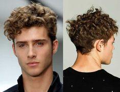 Peinados para pelo corto con rulos hombres