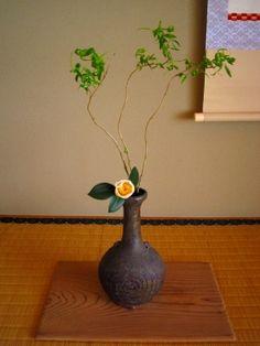 生け花(床の間) - 亀好き関西人 Ikebana