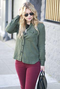 Britt+Whit| Army Green