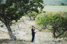 a unique wedding in a river shot by Ariel Renae