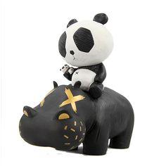 Hippo Panda : Black -