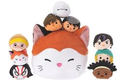 New Big Hero 6 Tsum Tsum collection coming to Japan on October 26, 2016!