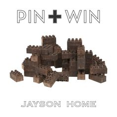 """Jayson Home Pin + Win Contest. Enter for your chance to win these Earth Blocks.    How to enter:  1. Go to www.pinterest.com/jaysonhome and follow all Jayson Home boards by clicking """"Follow All.""""  2. Repin this product from the """"w i n n i n g !"""" board from the Jayson Home Pinterest page.    Contest ends at 4:00 pm CT on June 14, 2012. For more information visit: http://www.jaysonhome.com/customer-center/pin-and-win-contest?utm_source=Jayson+Home_campaign=Pinterest_2012_06_Contest_medium=Pi"""