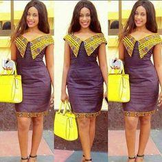 office chitenge dresses for women 2020 ⋆ African Fashion Ankara, African Inspired Fashion, Latest African Fashion Dresses, African Print Dresses, African Print Fashion, Africa Fashion, African Wear, African Attire, African Women