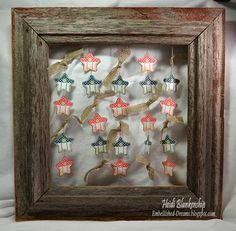 June Release and Tutorial Tuesday 4th of July Celebration using JustRite Let Freedom Ring and Shooting Stars Background Stamp | JustRite Papercraft Inspiration Blog
