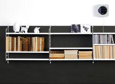 Tiefe Töne: Mit Schwarz und Weiß große Wandflächen gliedern - Bild 8 - [SCHÖNER WOHNEN]