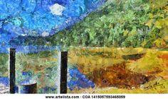 Muelle en el lago