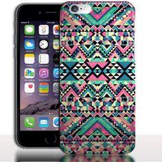 Coque iPhone 7 Azteque ( Bumper rigide / Silicone ) - Motif Azteque 4.7 pouces