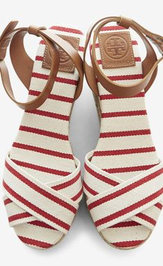 Candy Stripe Sandals