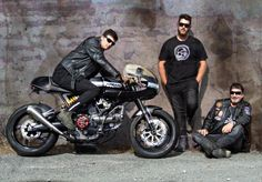 Blyde boys - check us out caferacer.nz